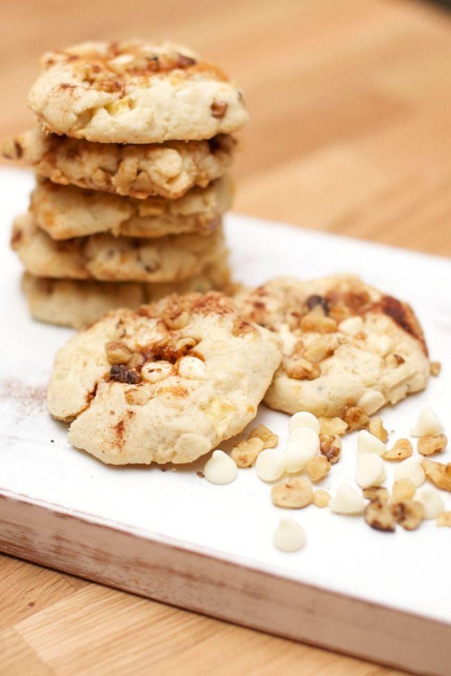 Caramel Apple Pie Christmas Cookies #CookieEggChange - Spaceships and Laser Beams