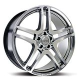 "RIVA HMC in Platinum Specification: Size: 18"" x Width:7.5J Fitment: 5 stud only  PRICE, SET OF 4 £432"