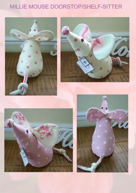 Millie Mouse doorstop - seems easy