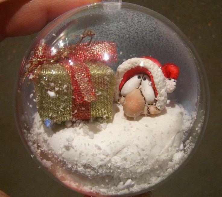 E visto che si avvicina il Natale... non potevano mancare i miei dolcissimi Degotti in una veste tutta Natalizia! Li amooooo!!!!