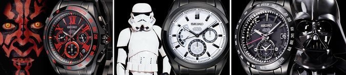 Officially Licensed Star Wars Watches by Seiko http://coolpile.com/gadgets-magazine/officially-licensed-star-wars-watches-by-seiko/ via CoolPile.com - $1440 -  Accessories, Amazon.com, C-3PO, Cool, Darth Maul, Darth Wader, Gifts For Him, Luxury, R2-D2, Seiko, Star Wars, Storm Troopers, Watches, Yoda