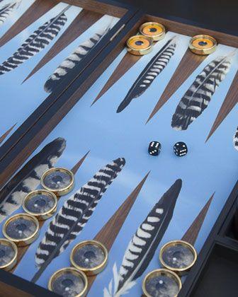 Neiman Marcus Backgammon Board  by Alexandra Llewelyn