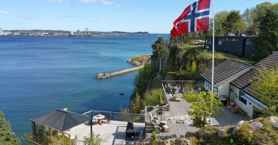 Private Terrace Larvik, Norway
