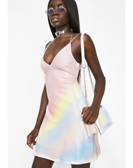 546480acd4e Rainbow Sherbert Sequin Dress  dollskill  sugarthrillz  rainbow  kawaii   pastel  sequin  dress