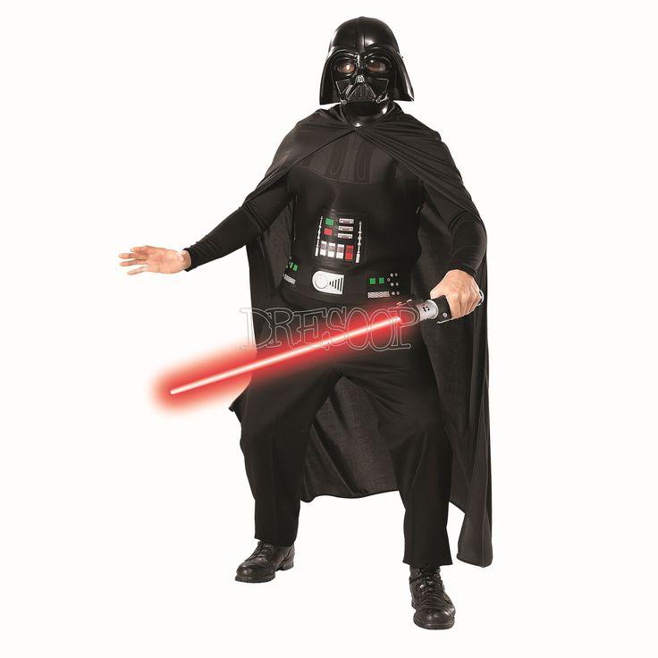 Disfraz Darth Vader con espada para hombre - Dresoop.es