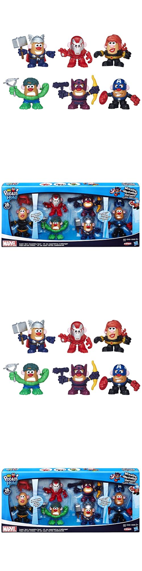 Playskool 2576: Marvel Playskool Mixable, Mashable Heroes! Super Hero Assembly Pack Mr. Potato -> BUY IT NOW ONLY: $45.34 on eBay!