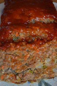 Old Fashioned Moist Meatloaf #Meatloaf #Recipes #Dinner