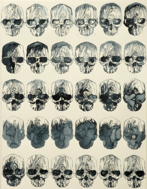 skullFabulous Skull, Bones Deep, Pattern, Skull Prints, Stephane Balleux, Illustration, Skeletons, Art Ideas, Stephen Balleux