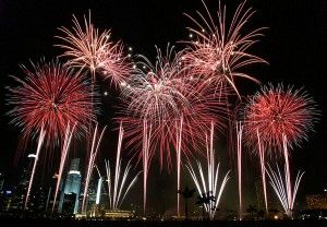 New Years Eve Fireworks in Melbourne. Where to eat with kids!
