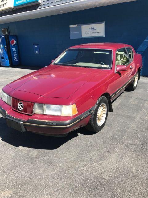 1987 Mercury Cougar 5.0 V8 20th Anniversary Edition