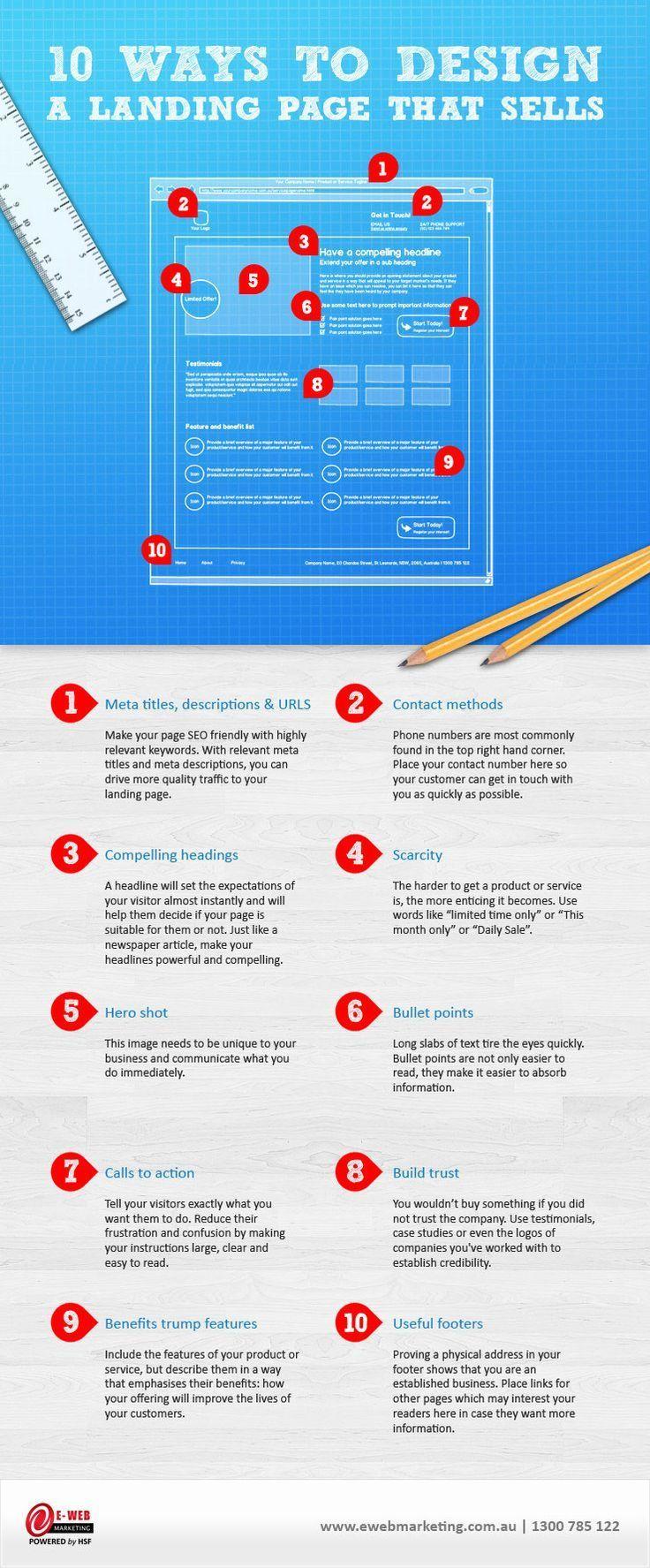Mira estos 10 Tips para crear una landing page que venda! Mientras mejor sea tu landing, mejor serán tus ventas.. Si quieres ver más tips de e-Commerce síguenos en nuestra web |2b eCommerce l The key to online branding and sales success!