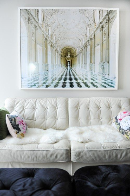 25 Best Ideas About White Leather Sofas On Pinterest