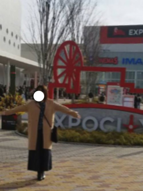 こんばんワーンコU・x・U 今日は家族で大阪エキスポシティ行ってきました(^^) 寒いと予想して、