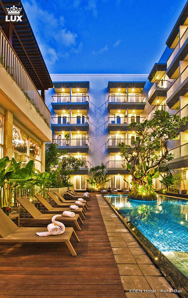Eden Hotel Kuta Bali is alluringly nestled at Jalan Kartika Plaza in the heart of Kuta, Bali. The Hotel is just 10 minutes away from Ngurah Rai International Airport, 20 minutes from Jimbaran - Nusa Dua tourism areas and minutes away from other leisure options and facilities such as Discovery Shopping Mall That has a stunning beachfront view, shops, cafes, restaurants, as well as banks. #bali #balihotel #kuta #luxury #cityhotel