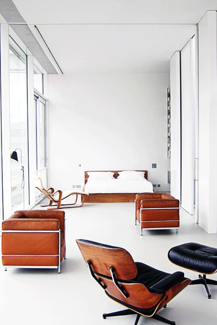 Le corbusier furniture celebrate le corbusier top 5 most famous works - White Modern Mid Century Eames Knoll Lounge Windows Bedroom I Dream Of Owning This Chair Find This Pin And More On Deco Le Corbusier