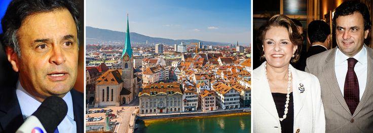 Doleiro abriu conta de Aécio Neves em Liechtenstein