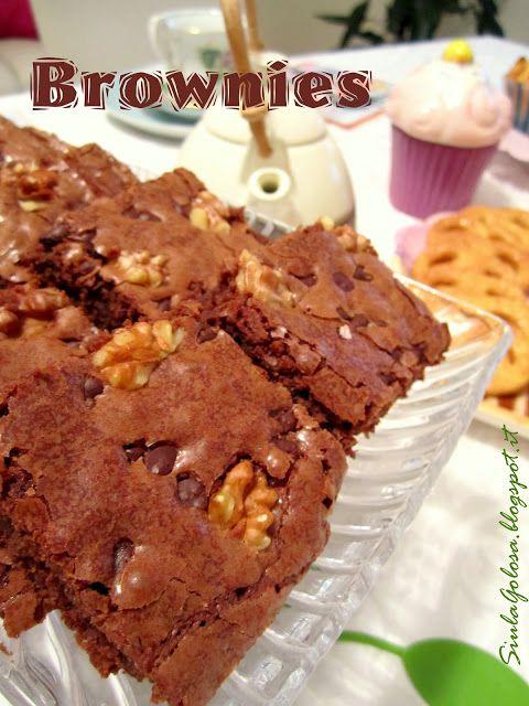 Siula Golosa: Tea Time con Brownies...
