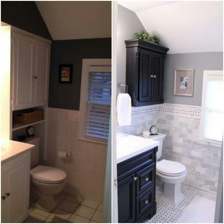 Remodeled Bathrooms Pinterest 108 best remodeled bathrooms images on pinterest | remodel