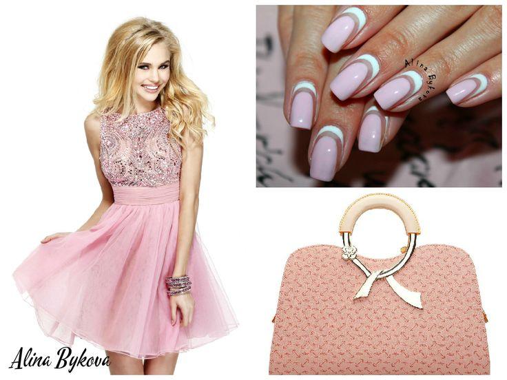 Красивые Ногти by Alina Bykova  #alinabykova #krasivienogti #nails #nail #fashion #style #cute #beauty  https://www.youtube.com/user/krasivienogti