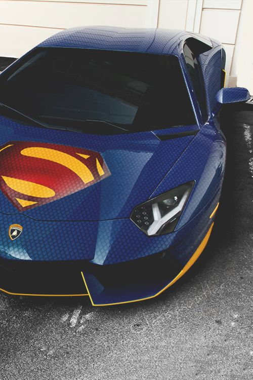 Man of Steel's Aventador