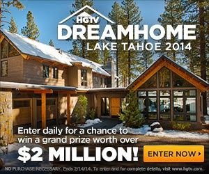 NEW!!! CONTEST: @HGTV 2014 Dream Home Giveaway in Lake Tahoe, CA, GMC® Denali & $250,000 CASH http://ow.ly/sc6W9 ENTER DAILY THRU 2/14/2014!!!