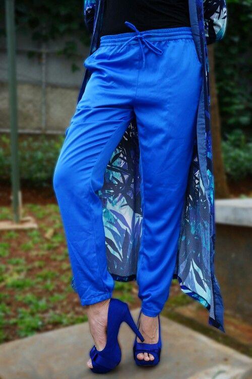 Follow Instagram : @mwfashionwear  MW Joger Pants Material : Cavalli  ALL SIZE Price : 180K  #LongCardi #HijabFashion #Ootd #JogerPants #KulotPants #mwfashionwear #mwfashionforward