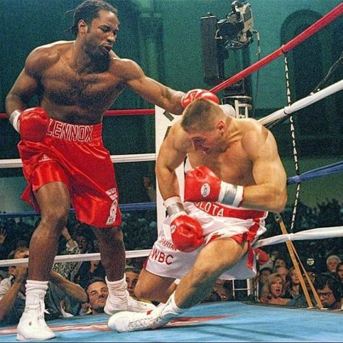 The bigger they are the harder they fall.#OnThisDay: #LennoxLewis annihilated #AndrewGolota: http://www.boxingnewsonline.net/on-this-day-lennox-lewis-annihilated-andrew-golota/ LINK IN BIO #boxing #BoxingNews