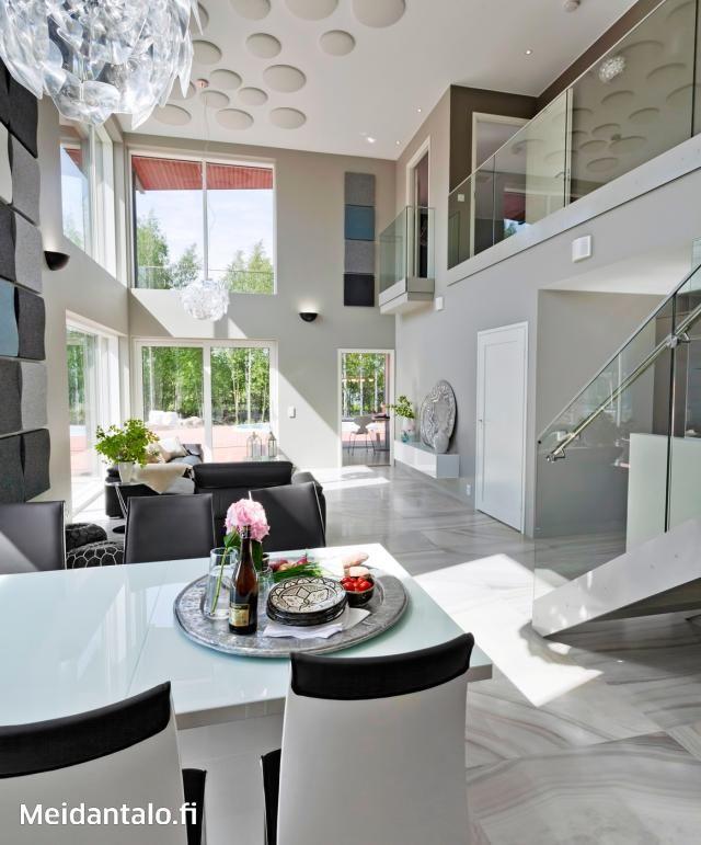 Kivitalo asuntomessuilla - arjen luksusta   Meidän Talo