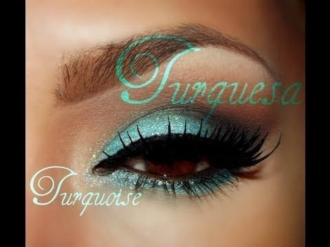 Turquesa  / Turquoise Eye makeup tutorial