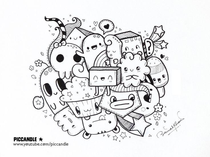A Quick Kawaii Doodle By PicCandle.deviantart