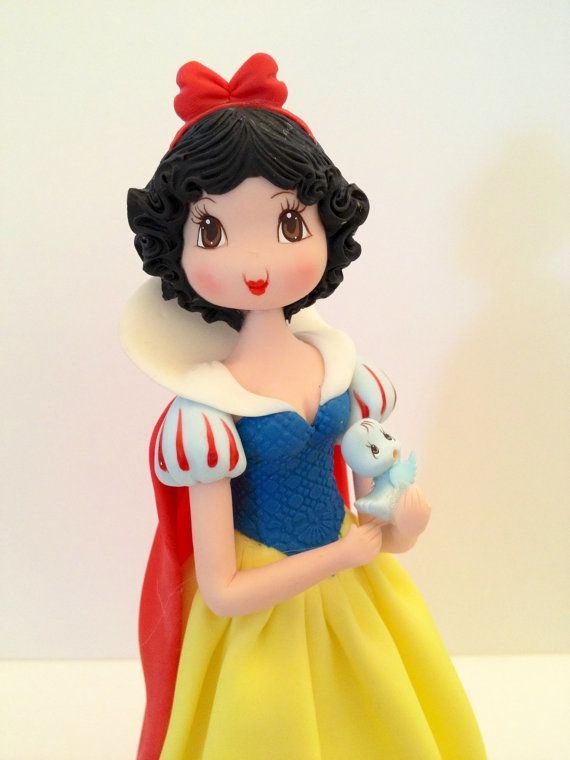 Princess Inspired Cold Porcelain Snow by MICHELLCUSTOMDESIGNS