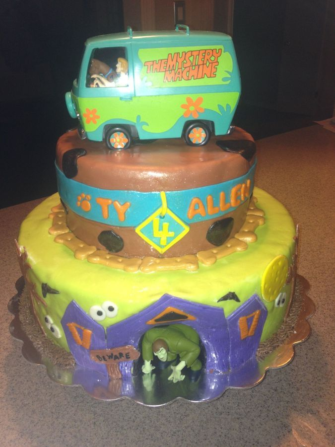 Scooby Doo birthday cake. I want for my next b-day!!!
