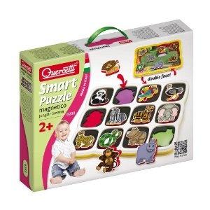 Quercetti 0232 magnetisches Smart Puzzle Dschungel ab 2 Jahren: Amazon.de: Spielzeug
