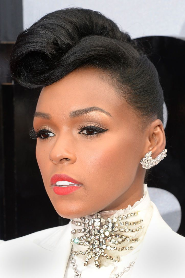 Janelle Monae at the BET Awards. Such a great look