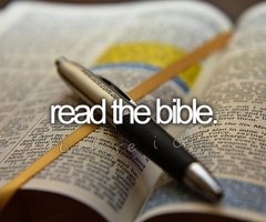 Read the (whole) bible