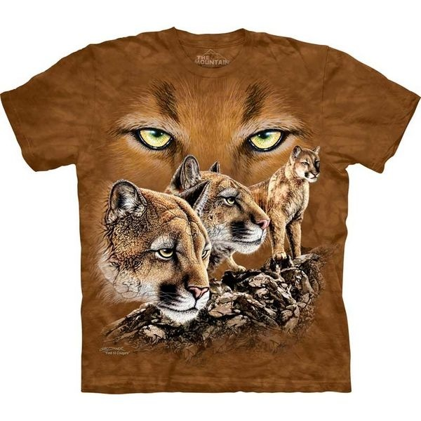 The Mountain Big Cat T-shirt | Find 10 Cougars