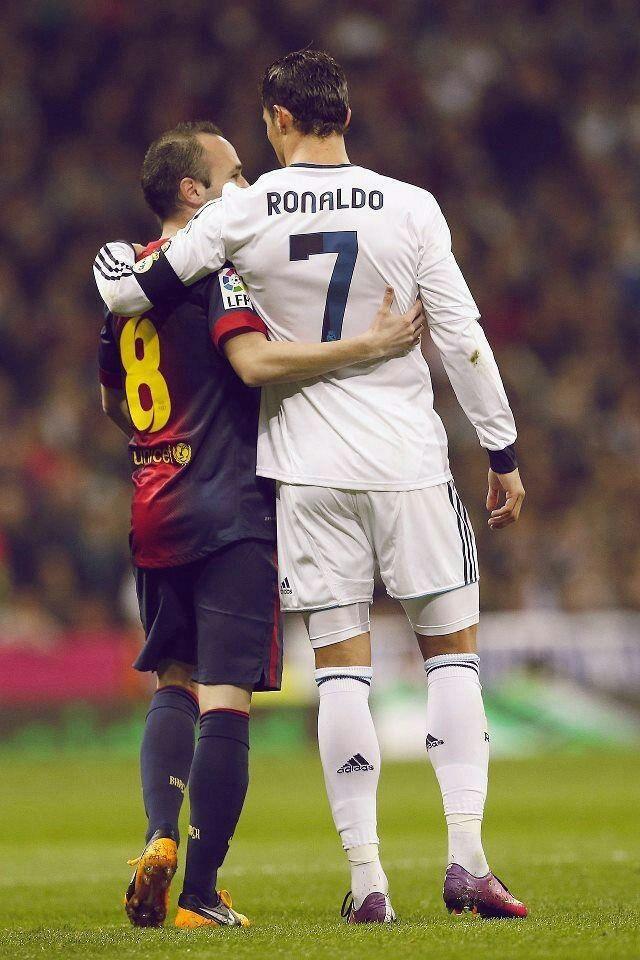 Inesta and Ronaldo