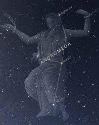 Star Citizen : (mytologi) Andromeda ((Græsk): Ανδρομέδα) er i græsk mytologi en kvinde, der er datter af Kefeus (kongen af Aithiopien) og Kassiopeia. Andromedas mor