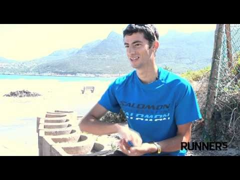 Kilian Jornet talks about his love for mountains, and how he enjoys running in Cape Town.