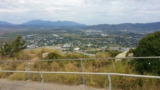 Townsville from the hill