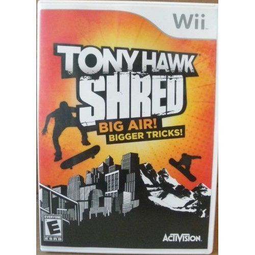 Tony Hawk Shred Big Air Bigger Tricks Nintendo Wii  Rated E -- See this great product.