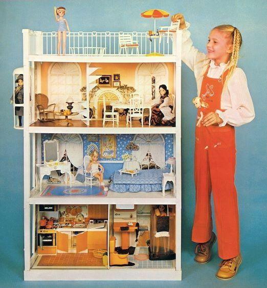 Vintage Barbie Dream House 1980 For Sale Wroc Awski