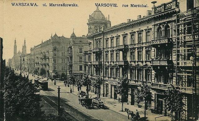 Pre-war Warsaw, Marszalkowska