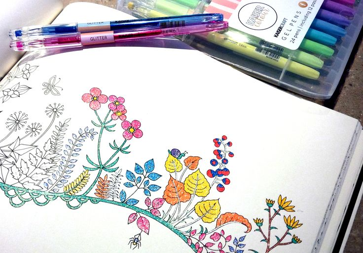 Joining the bandwagon. #adultcoloring #colortherapy