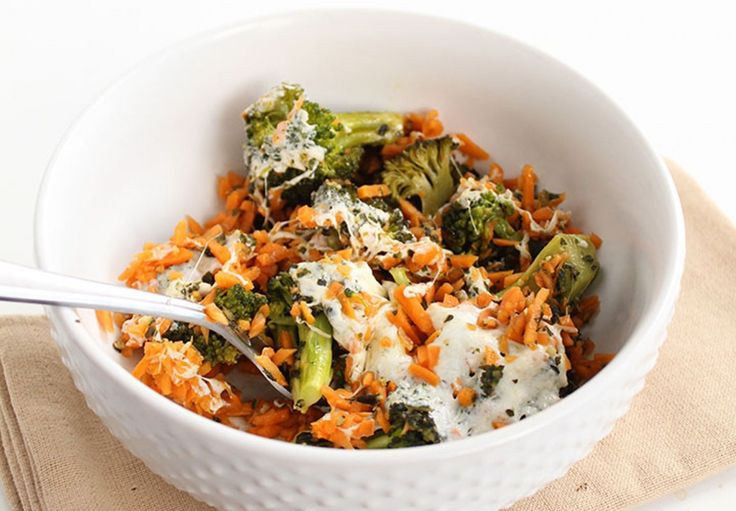 <p>The sweet potato rice in this vegan dish cooks to a perfect consistency in 40 minutes in the oven and the savory flavors from the mozzarella and pesto pair well with the sweetness that comes from the potato when roasting.</p>
