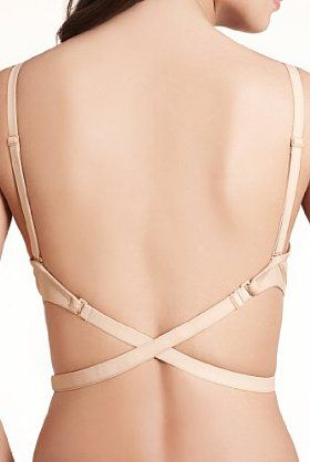 Backless bra from M Smart. We all have a shirt or dress that we could use this with.
