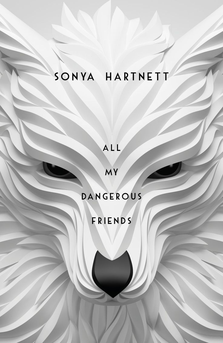 #CoverReveal: All My Dangerous Friends - Sonya Hartnett, AUS