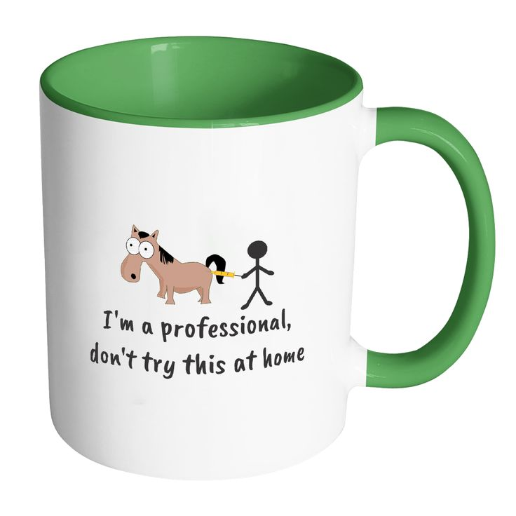 Large Animal Vet Inner Color Mug 11oz - Don't try this at home
