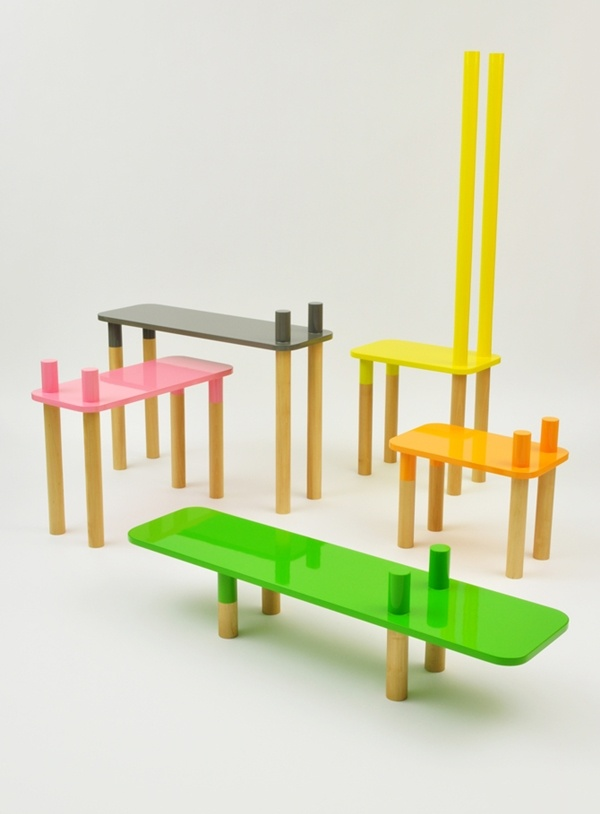 Functional Furniture Of Natural Wood by Rui Alves