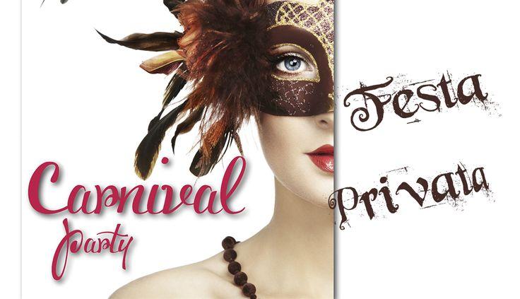 CLIENTE: Carnival Party LAVORO: Grafica & Stampa Bigliettino cm 9X5